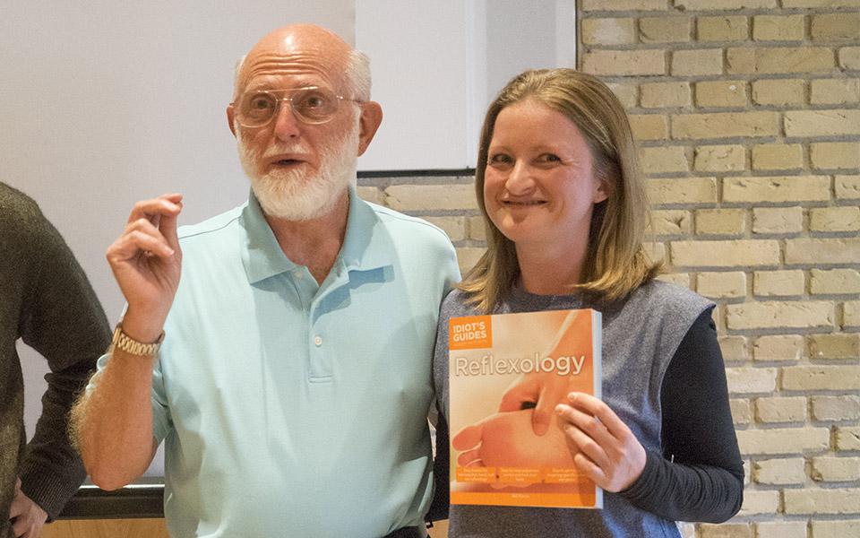Foot Hand Ear Reflexology Book by Bill Flocco