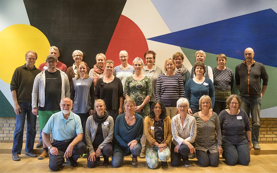 Bill's Flocco's Foot Hand Ear Reflexology Workshop in Aarhus Denmark