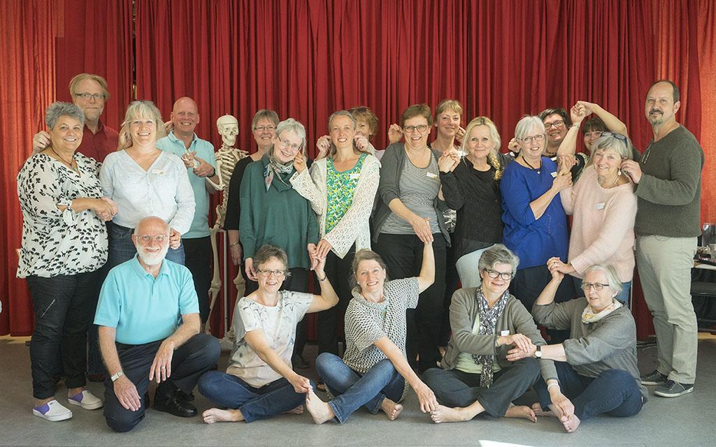 Bill's Foot Hand Ear Reflexology Workshop in Copenhagen Denmark