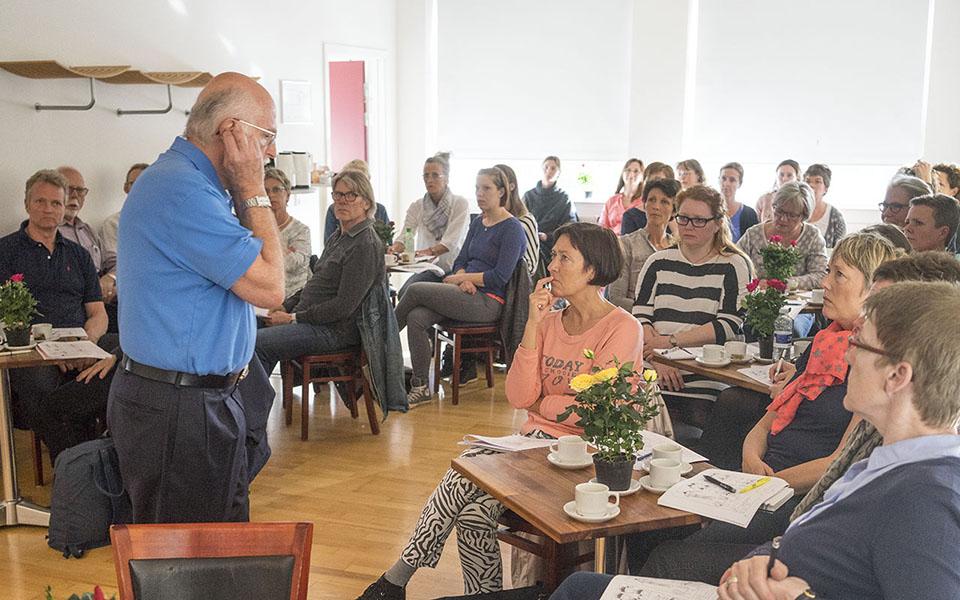 Bill Flocco's Foot Hand Ear Reflexology Workshop in Odense Denmark